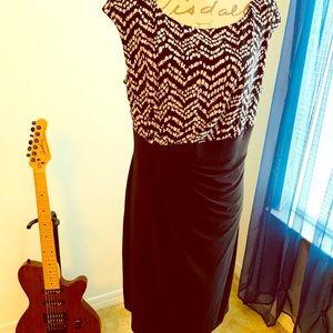 CHAPS Midi Dress 👗 Size XL